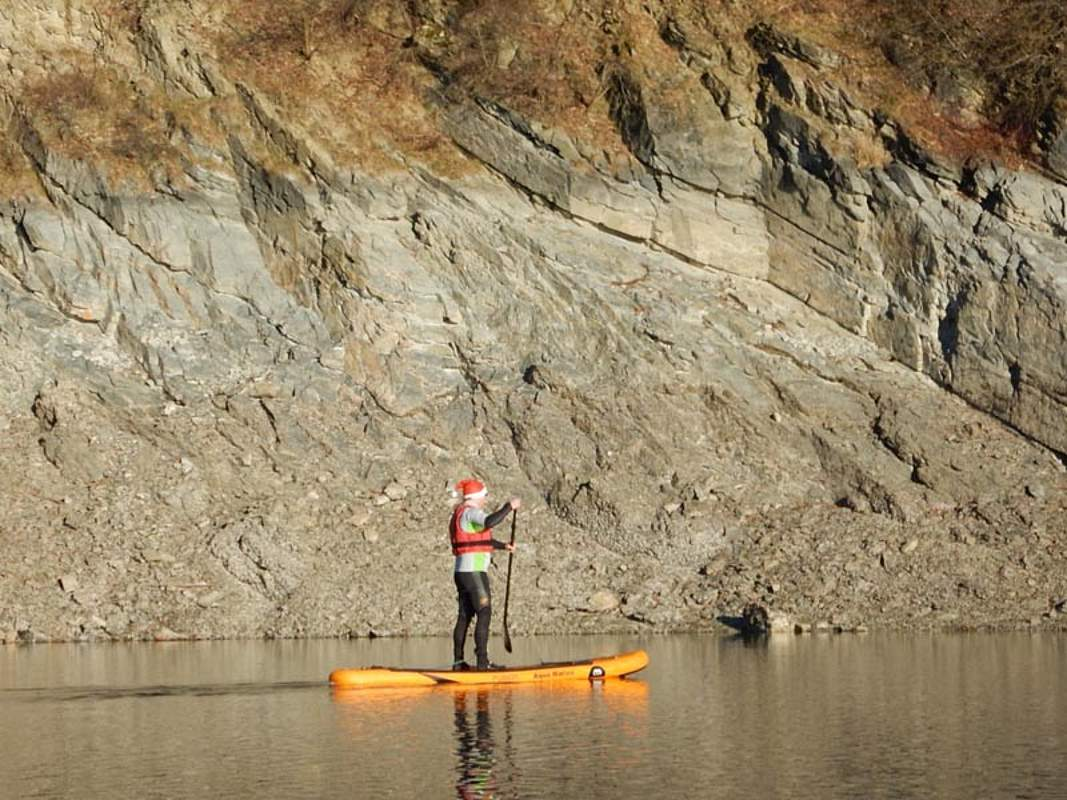 SUP - Stand-Up-Paddling: Hennesee Sauerland