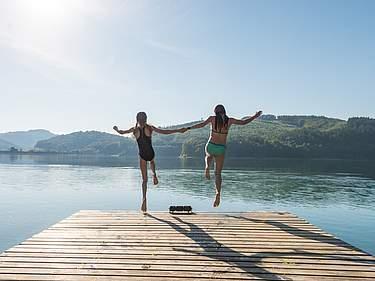 Wassersport: Hennesee Sauerland