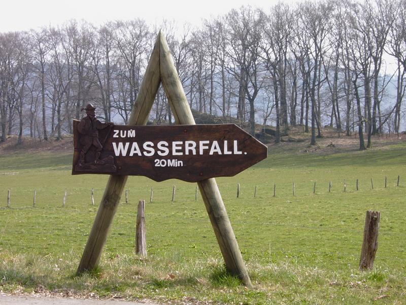 Wasserfall Plästerlegge Hennesee Sauerland